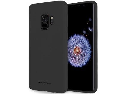 Černý obal Mercury Soft Feeling pro Samsung Galaxy A8 PLUS (2018)