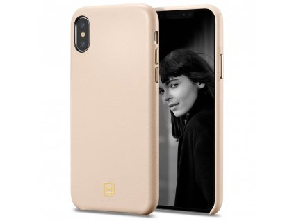 pouzdro SPIGEN LA MANON CALIN Iphone XS MAX ruzovy