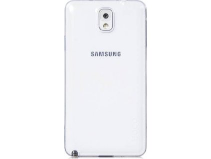 husa protectie silicon hoco light series samsung n9005 white