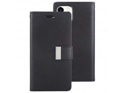 48188 1 cerne flipove pouzdro mercury rich diary wallet pro iphone 11 pro