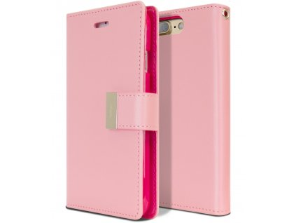 Pouzdro obal na iPhone 7 8 Rich Diary krytnamobil.cz