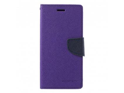 Fialové flipové pouzdro Mercury Fancy Diary pro Samsung Galaxy J6 Plus