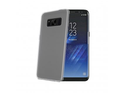 9099 1 pruhledny obal celly gelskin pro samsung galaxy s8
