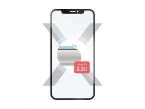 Ochranné tvrzené sklo FIXED Full-Cover pro Xiaomi Mi A2 Lite, přes celý displej, černé, 0.33 mm