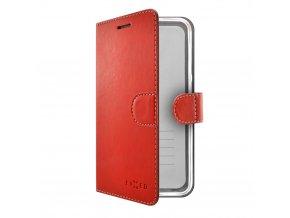 Pouzdro typu kniha FIXED FIT pro Samsung Galaxy A5 (2017), červené