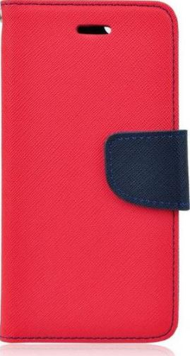 POUZDRO / KRYT PRO APPLE IPHONE 5/5S/SE - MERCURY, FANCY DIARY RED/NAVY