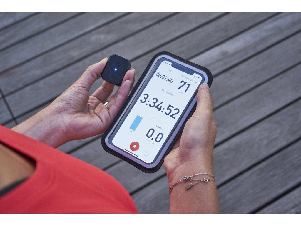 Sportovní pouzdro,a senzor srdečného tepu - Cardio Armband Shapeheart HR, velikost XL
