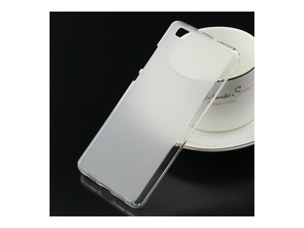 Silikonový obal pro Huawei P8 Lite - transparentní