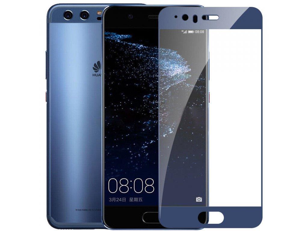 Full-Cover 3D tvrzené sklo pro Huawei P10 Plus - modré