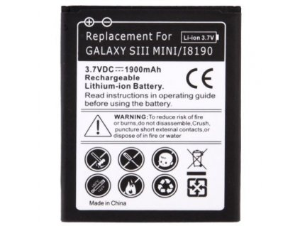 Baterie pro Samsung Galaxy S3 Mini i8190 1900mAh