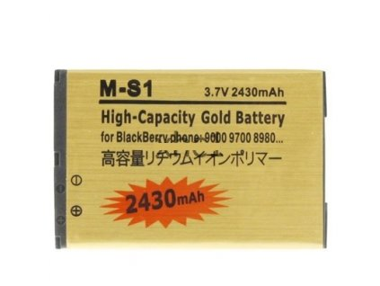 Baterie M-S1 - BlackBerry 8980/9000/9700++ 2430mAh