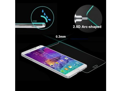Tvrzené sklo 2,5D pro Samsung Galaxy Note 4 N9100