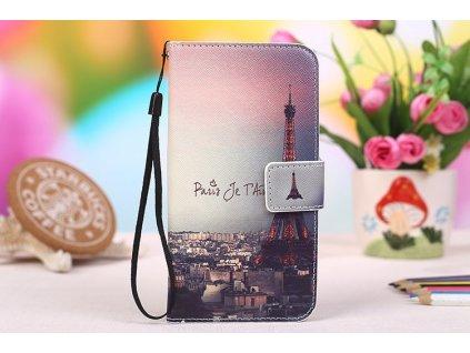 Kožené pouzdro PARIS pro Vodafone Smart Prime 6