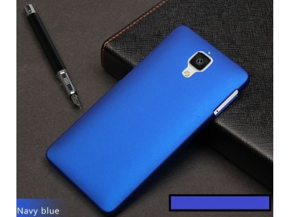 Luxusní obal kryt pouzdro pro Xiaomi Mi4 - modrý