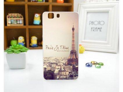 Silikonový obal pro DOOGEE X5 / X5 PRO - PARIS Je T'Aime