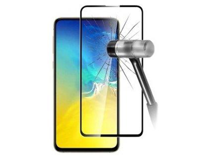 Tvrzené sklo 9D pro Samsung Galaxy A70 A705 - černé