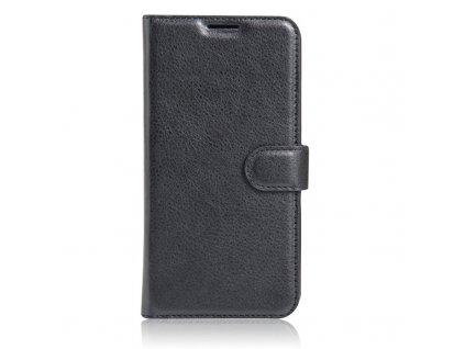 Kožené pouzdro CLASSIC pro Lenovo Vibe K5 Note - Černé