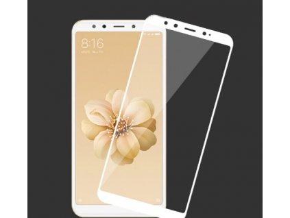 Full-Cover 3D tvrzené sklo pro Xiaomi Mi A2 - bílé