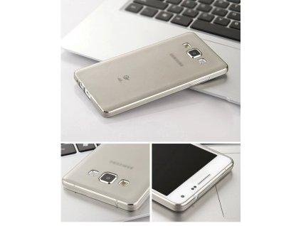 Silikonový obal pro Samsung Galaxy A3 A300 - Šedý