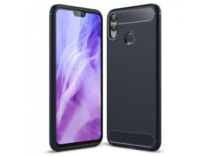 Silikonový obal CARBON pro Huawei P40 lite E - černý
