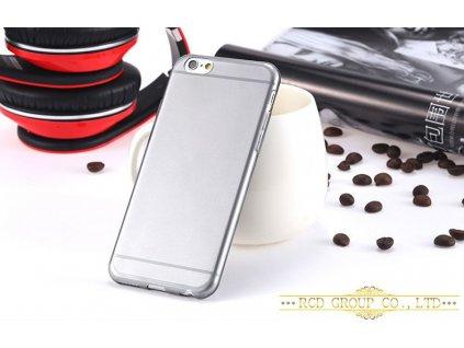 Silikonový obal pro Apple iPhone 6 - černý