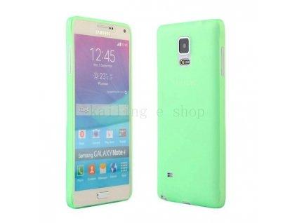 Ultratenký kryt pro Samsung Galaxy Note 4 N9100 - zelený