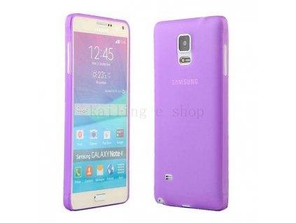 Ultratenký kryt pro Samsung Galaxy Note 4 N9100 - fialový