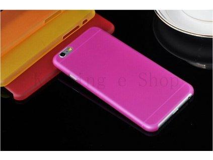 Ultratenký kryt pro iPhone 6 Plus - růžový