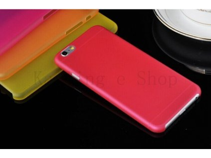Ultratenký kryt pro iPhone 6 Plus - červený
