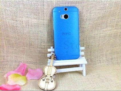 Ultratenký kryt pro HTC One 2 M8 - modrý