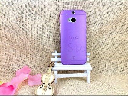 Ultratenký kryt pro HTC One 2 M8 - fialový