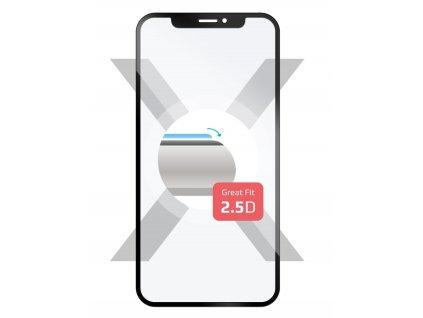Ochranné tvrzené sklo Full-Cover FIXED pro Huawei P20 Lite přes celý displej - černé