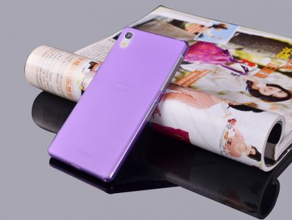 Ultratenký kryt pro Sony Xperia Z2 - fialový
