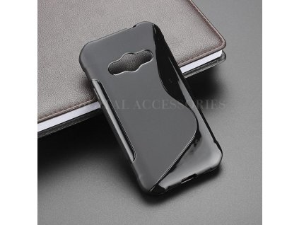 S line obal pro Samsung Galaxy Xcover 3 G388F - černý