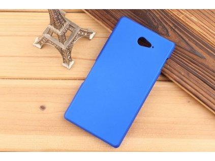 Luxusní kryt pro Sony Xperia M2 Aqua - tmavě modrý