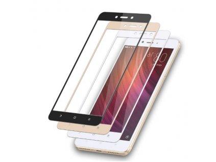 Full-Cover 3D tvrzené sklo pro Xiaomi Redmi 5A - bílé