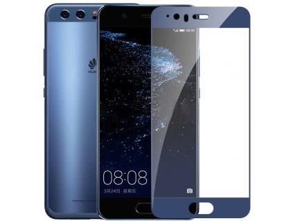 Full-Cover 3D tvrzené sklo pro Huawei P10 - modré