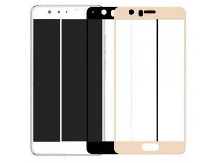 Full-Cover 3D tvrzené sklo pro Huawei P10 - černé