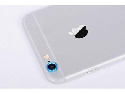 Ochranný kroužek pro kameru iPhone 6 - modrý