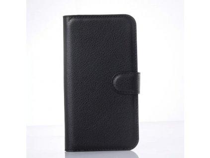 Kožené pouzdro CLASSIC pro Vodafone Smart Prime 6 - Černé