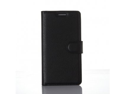 Kožené pouzdro CLASSIC pro Xiaomi Redmi 3 - Černé
