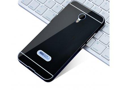 Hliníkový obal kryt pouzdro pro Meizu M2 Note - Černý