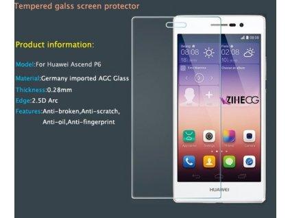Tvrzené sklo 2,5D pro Huawei Ascend P6