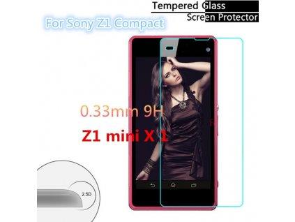 Tvrzené sklo 2,5D pro Sony Xperia Z1 Mini Compact
