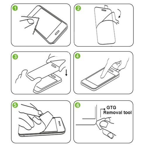 OEM Tvrzené sklo 2,5D pro iPhone 6 - zadní