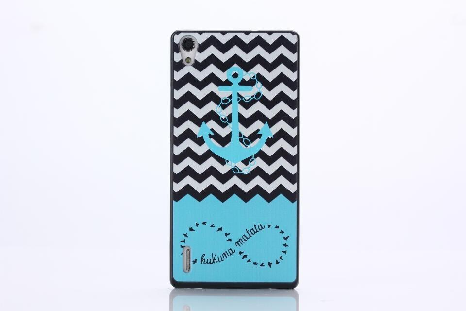 oem Obal kryt Hakuna Matata pro Huawei Ascend P7 (pouzdro)