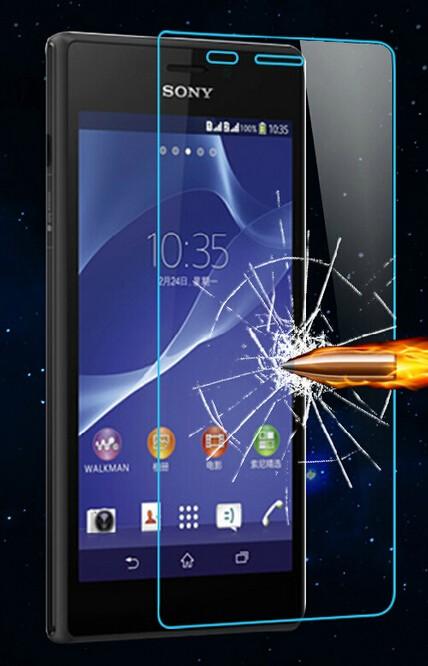 Tvrzené sklo 2,5D pro Sony Xperia M2 Aqua