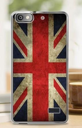 OEM Silikonový obal BRITAIN pro HUAWEI Honor 4C