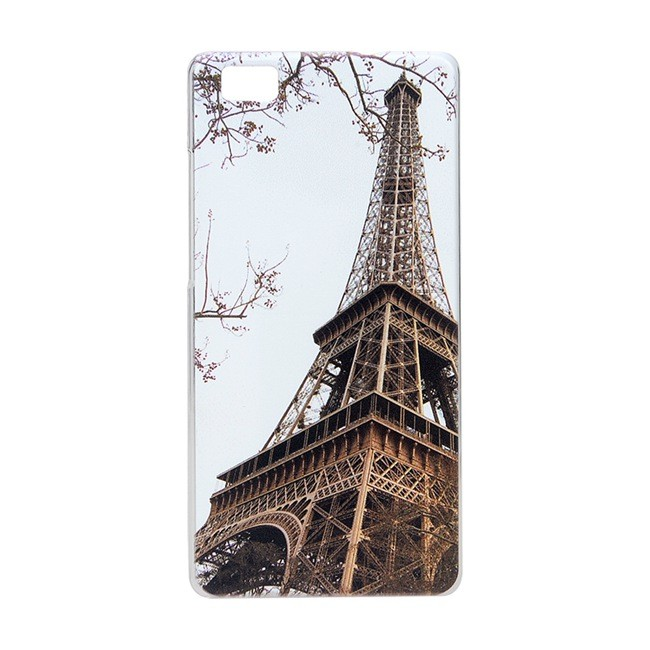 OEM Obal kryt EIFFEL TOWER pro Huawei Ascend P8 lite (pouzdro)