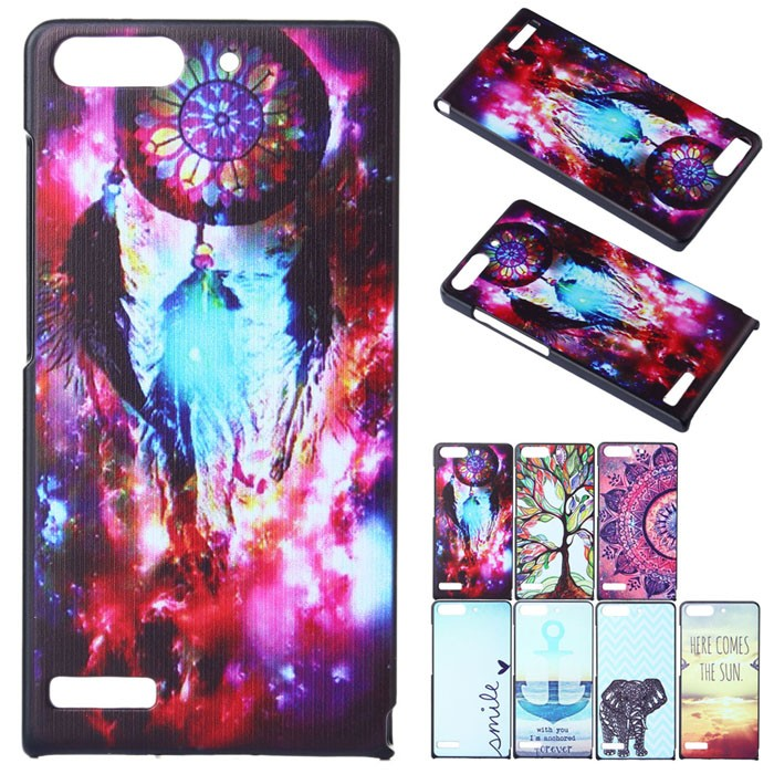 oem Obal kryt Here comes the sun pro Huawei Ascend G6 (pouzdro)